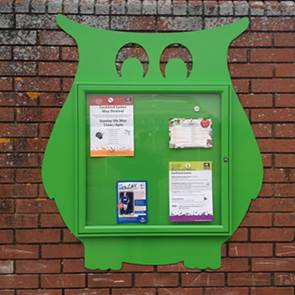 view <span>Shaped</span> External Notice Boards products