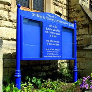 view <span>Church</span> Notice Boards & Signs products