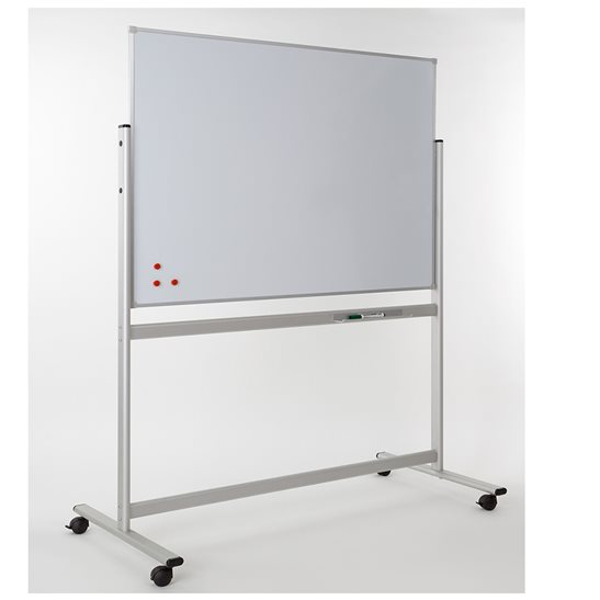 Mobile Magnetic Whiteboard | Freestanding | School Notice ...