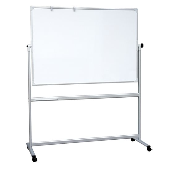 Mobile Revolving Magnetic Whiteboard | Stand Mounted ...