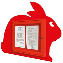 Bunny Shaped notice Board