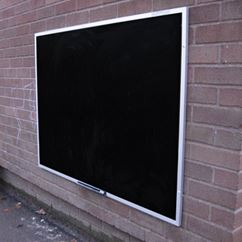 Flat Framed Outdoor Chalk Board