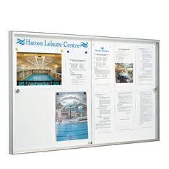 Allure Sliding Door Magnetic Notice Board