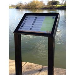Breeze External Lectern Mounted Notice Board