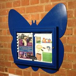 Butterfly Shaped Notice Board