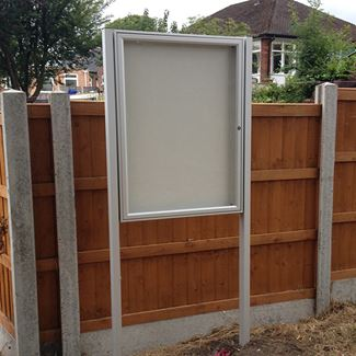 Classic 58 Post Mounted External Notice Board