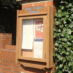 Parkland Wall Mounted External Notice Board