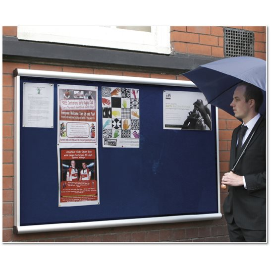 Apollo Wall Mounted External Notice Board