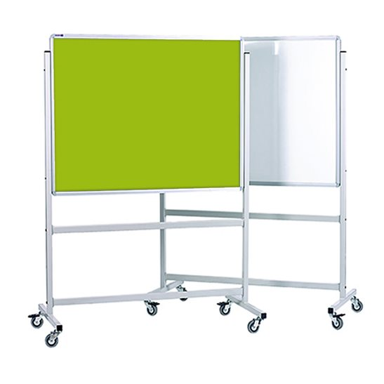 Mobile Whiteboard & Lucia Pin Board