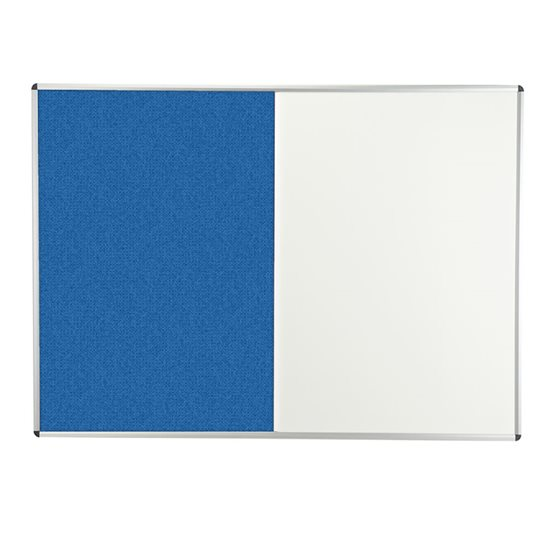 Combination Cara/Magnetic Dry Wipe Notice Board
