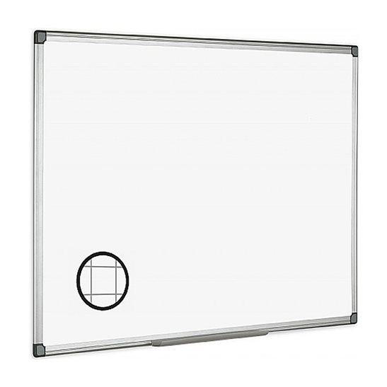 Magnetic Gridded Whiteboard