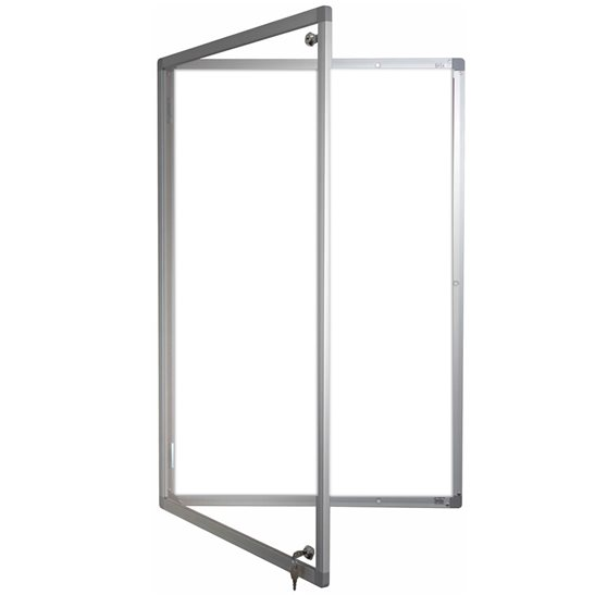Magnetic Lockable Whiteboard