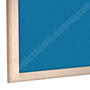 additional image for Wooden Framed Felt Notice Board