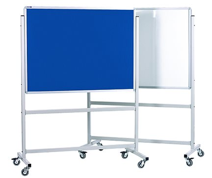 Mobile Whiteboard/Felt Board