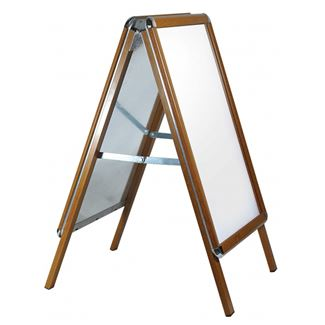 Wood Effect A frame Poster Holder