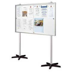 Allure Mobile Lockable Magnetic Board