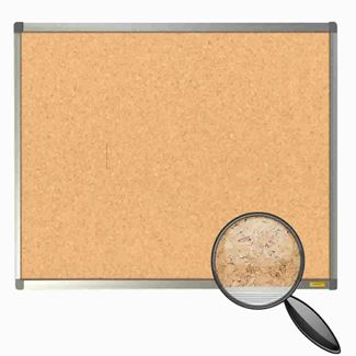 Aluminium Framed Cork Notice Board