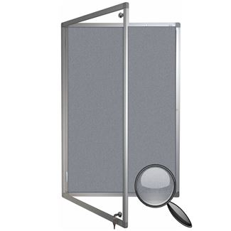 Cara Lockable Notice Board