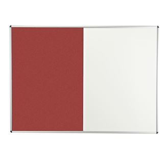 Combination Forbo/Magnetic Dry Wipe Notice Board