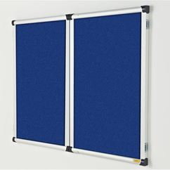 Metropolitan Confidential 2 in 1 Lockable Notice Board