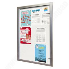 Eco 100 Magnetic Lockable Notice Board