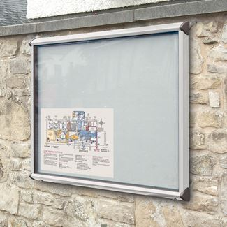 Colourway External Wall Mounted Notice Board