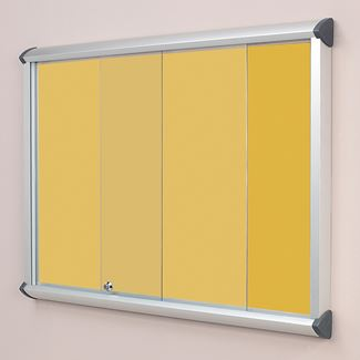 Colourway Flamemaster Sliding Door Showcase
