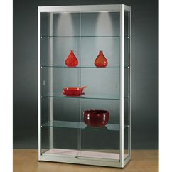 Glass Display Case 1000mm wide