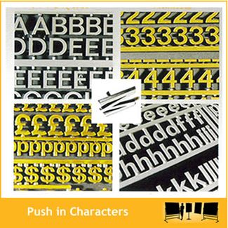 Push in Characters