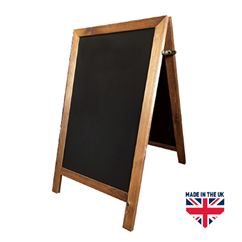 Lighting A-Frame Chalk Board