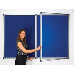 Metropolitan Lockable Blazemaster Notice Board