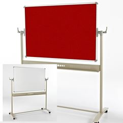 Mobile Felt/Magnetic Board - Revolving
