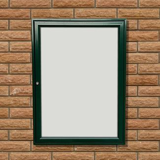 Tradition 30 Wall Mounted External Notice Board - Painted Frame