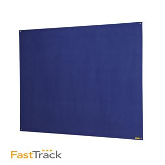 Fast Track Unframed Blue Felt Board