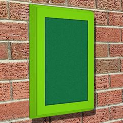 Weatherproof Felt External Notice Board