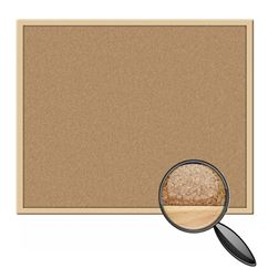 Hardwood Framed Cork Notice Board